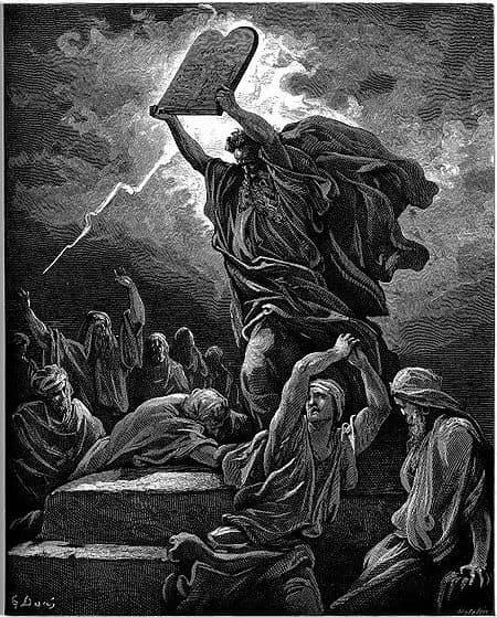 МАДАРСКИЯТ КОННИК И СКРИЖАЛИТЕ НА МОИСЕЙ