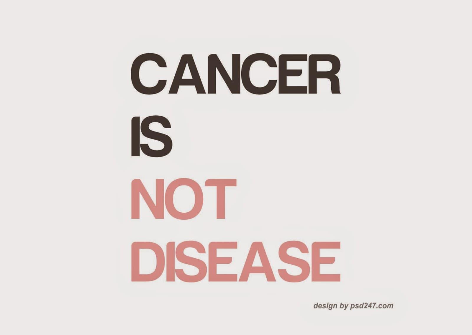 Ракът не е болест - Ексклузивно