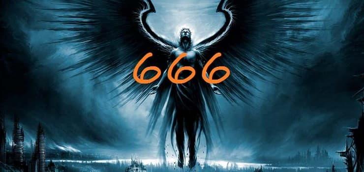 Числото 666 на Звярът е човешкият упадък.