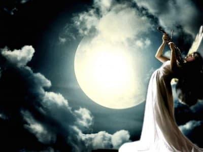 Ангел с виола