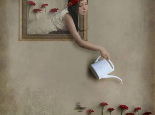 Поливай цветята