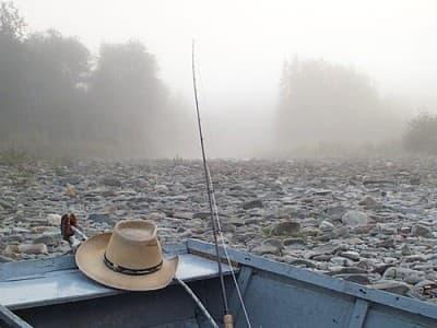 Matapedia-River-Morning-fog-at-the-Adams-Pool